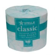 Stella Classic 1 ply 1000sht Toilet Tissue - 1000CL